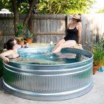 Как сделать бассейн из стоковой цистерны?