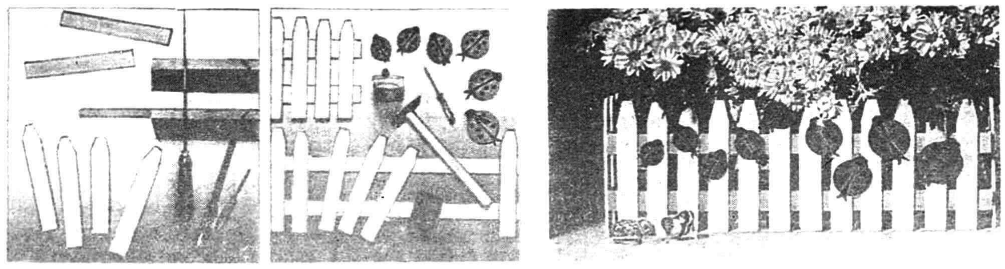 Стадии изготовления «палисадника» на подоконнике