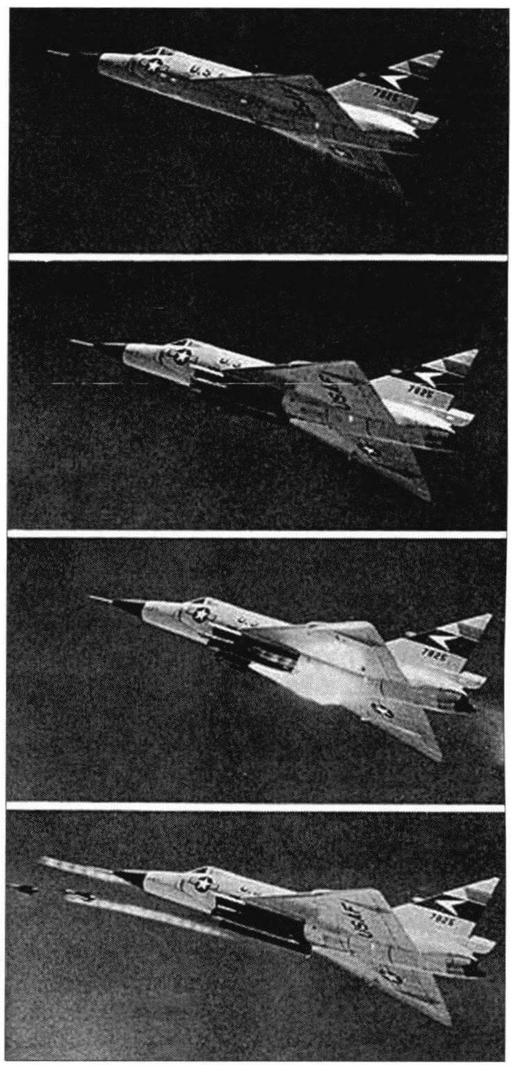 Циклограмма запуска ракет «Фалкон»