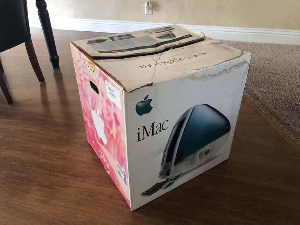 Apple iMac кровать для кота
