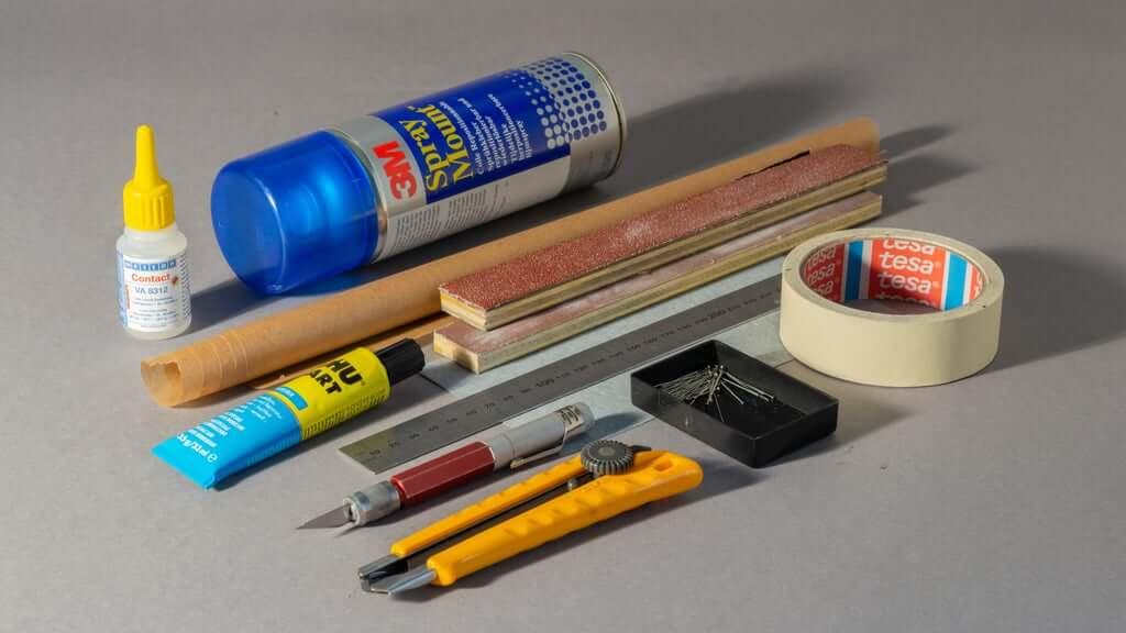Шаг 2: Инструменты и расходные материалы