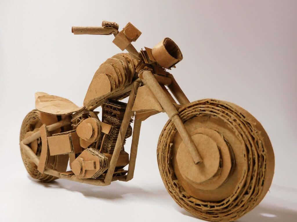 Шаг 12: Мотоцикл готов!