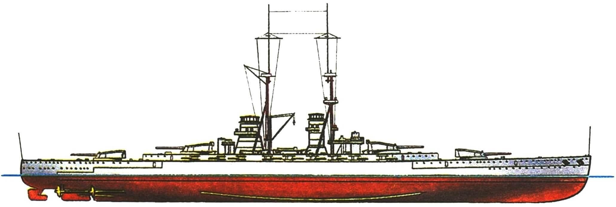 166.Линейный корабль «ФРАНЧЕСКО КАРАККЬОЛО», Италия (проект).