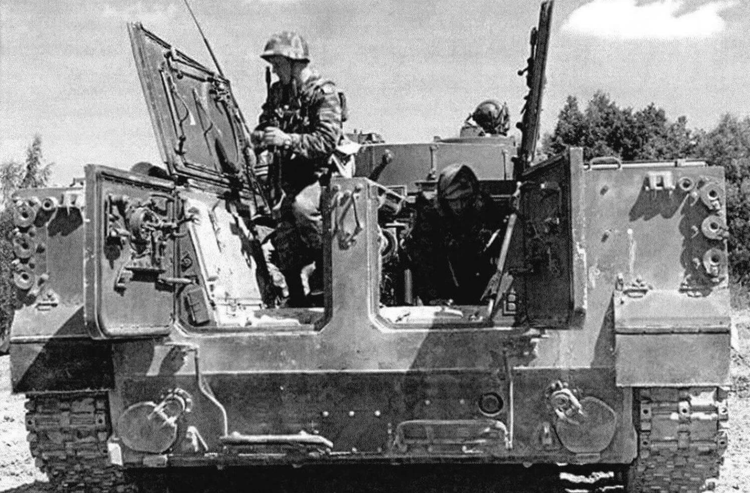 Высадка десанта из БМП-3