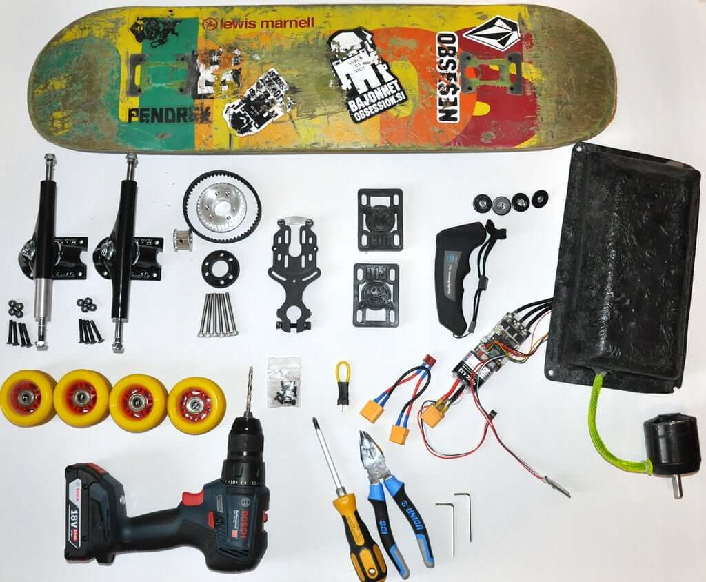 Электрический скейтборд своими руками