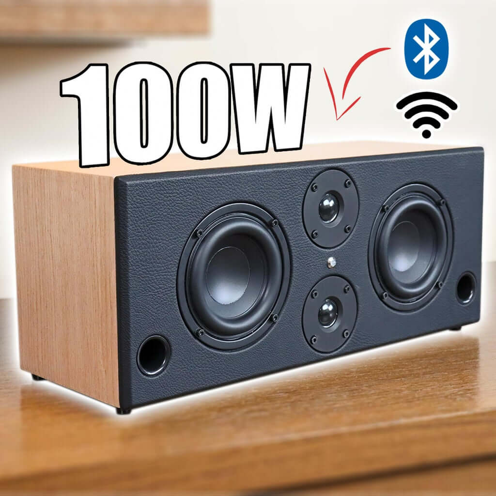 Wi-Fi / Bluetooth 5.0 Стерео динамик Boombox