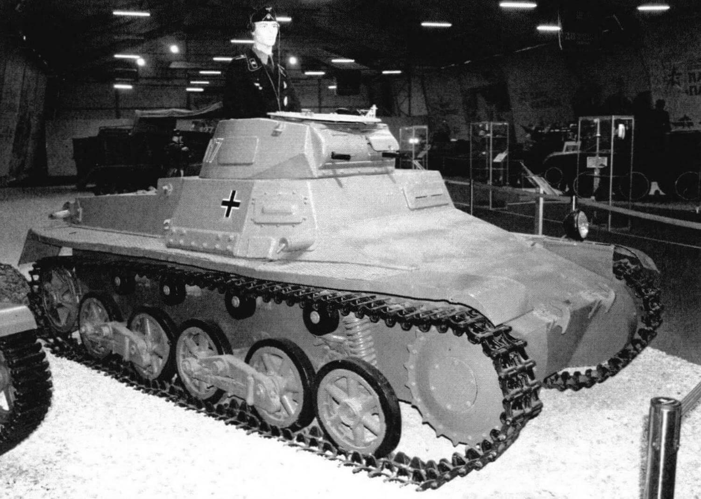 Pz.I Ausf.B в экспозиции военной техники парка «Патриот», 2019 год