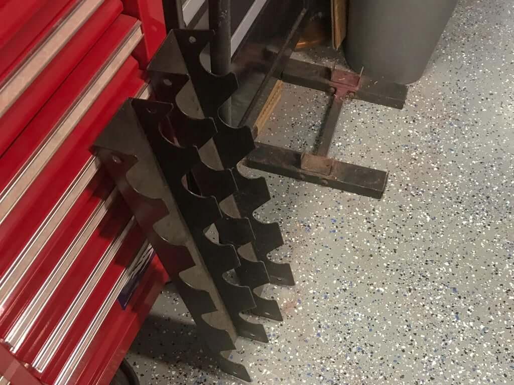 Шаг 3: Конструкция левой ножки стола