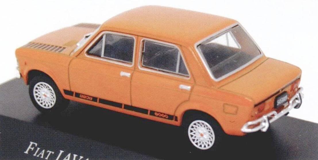 На сегодняшний день - эго самая удачная копия автомобиля Fiat 128, выполненная в масштабе 1/43