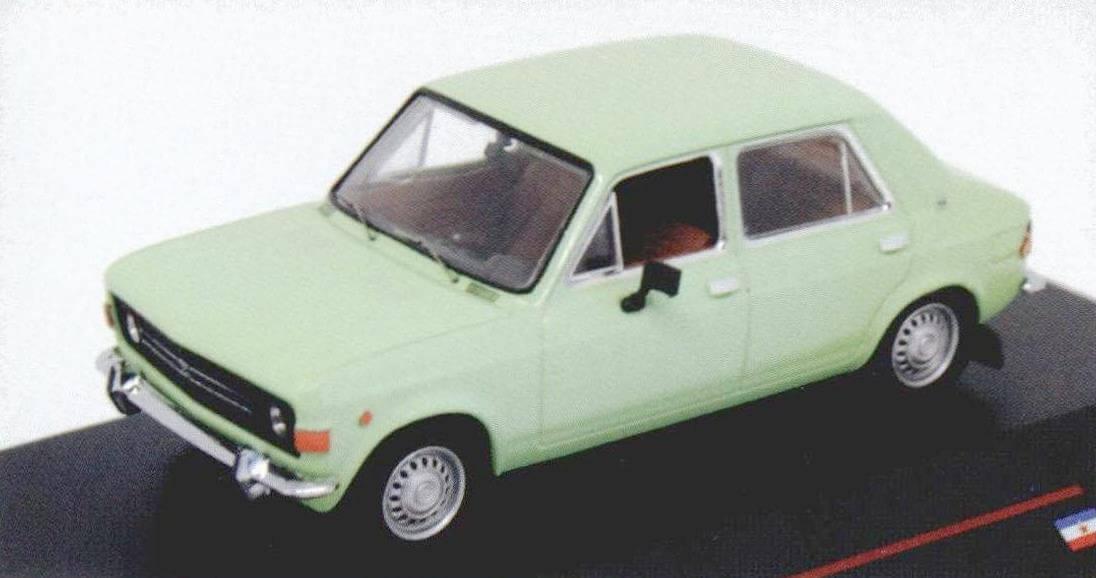 Модель Zastava 101 фирмы istmodels-единственная на сегодняшний день масштабная копия самого популярного югославского автомобиля
