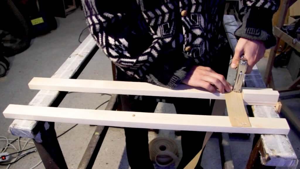 Шаг 4: Решетка для матраса