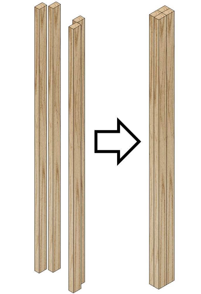 Шаг 1: Ножки