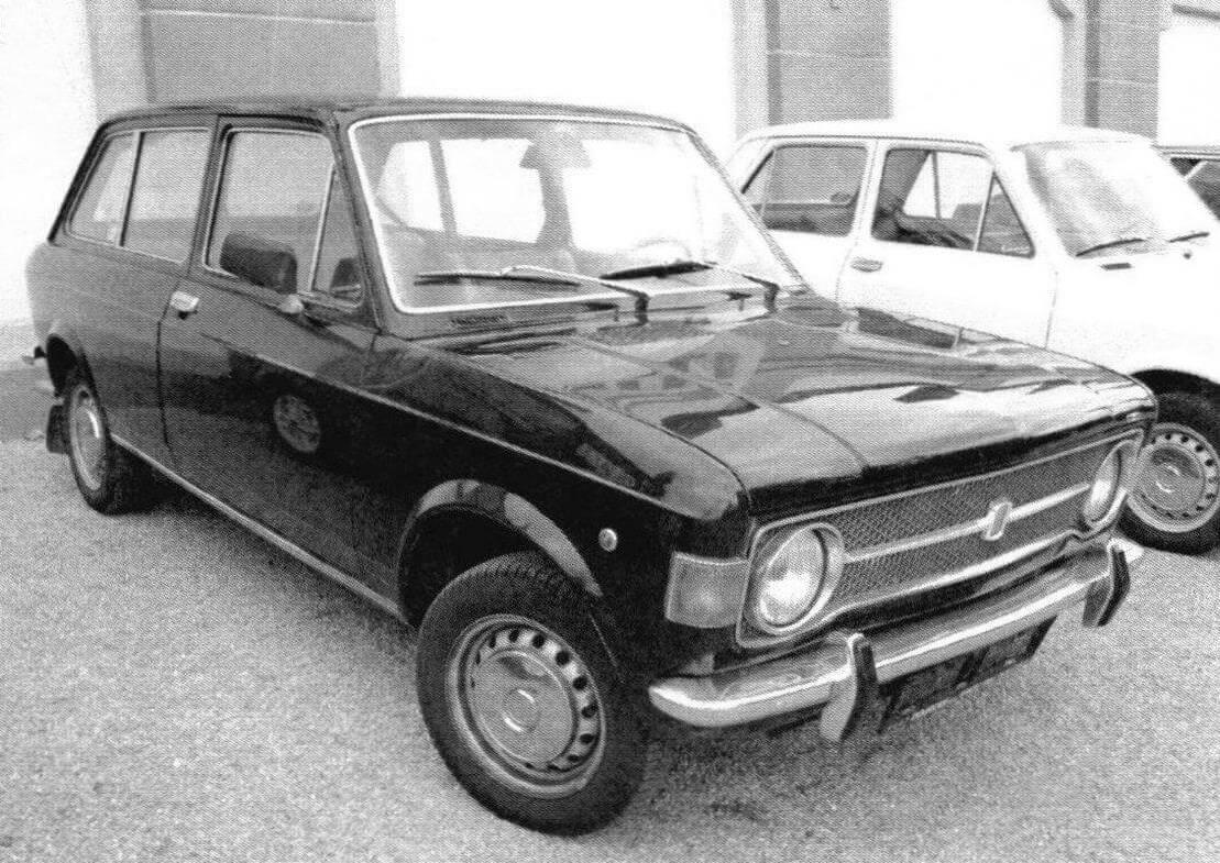 3-дверные универсалы Fiat 128 Familiäre собирали с 1970 по 1974 годы