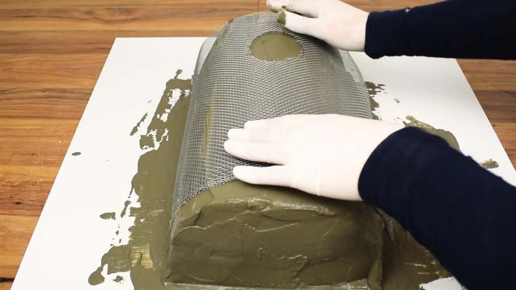 Шаг 7: 2-е бревно - Основная форма бетона
