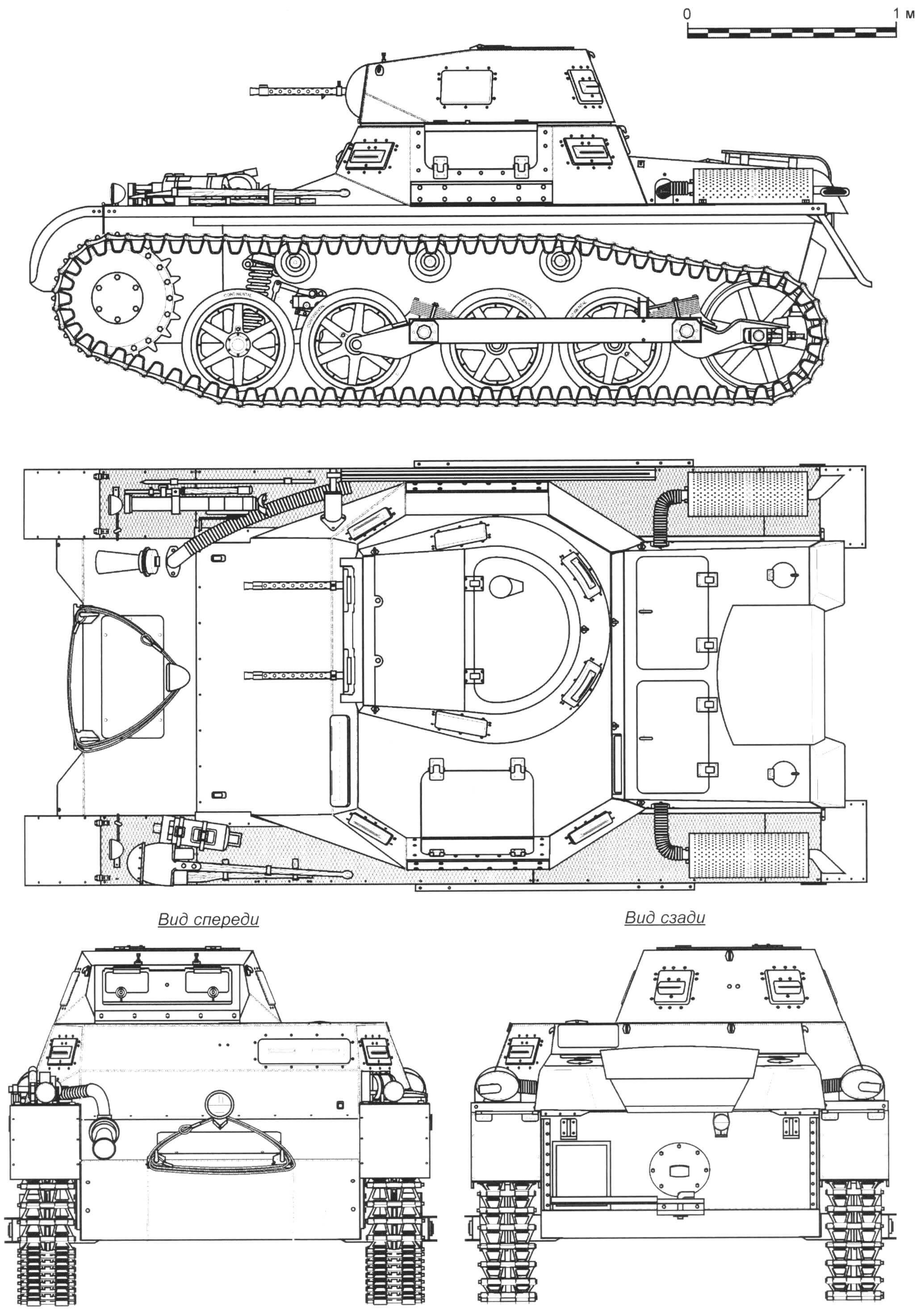 Танк Pz. I Ausf.A