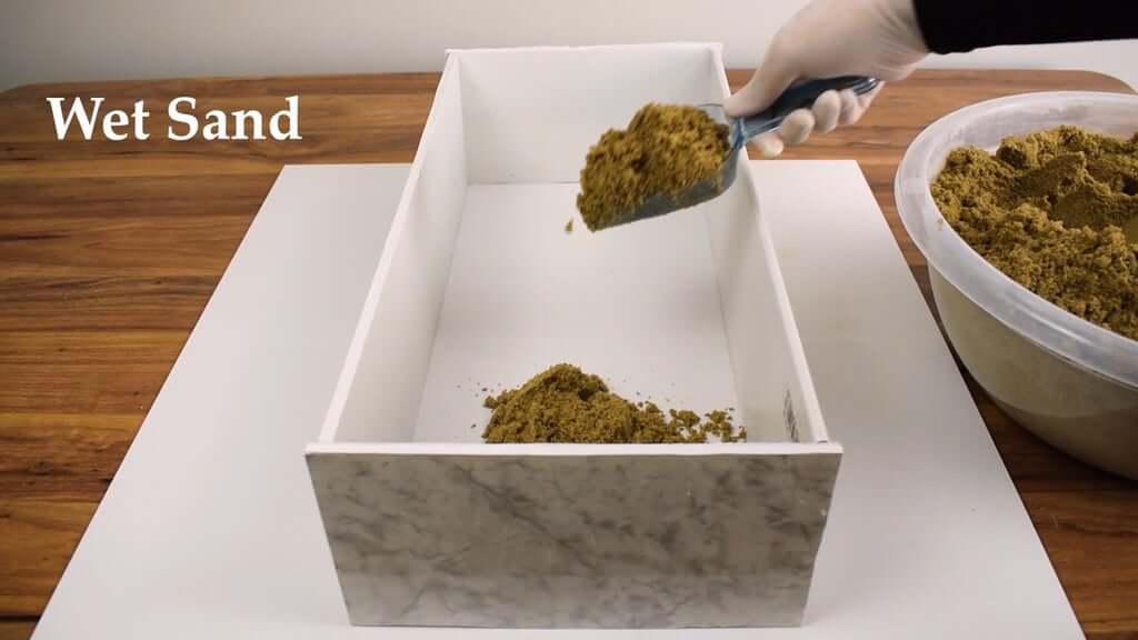 Шаг 1: 1-е бревно - Литье в песчаные формы