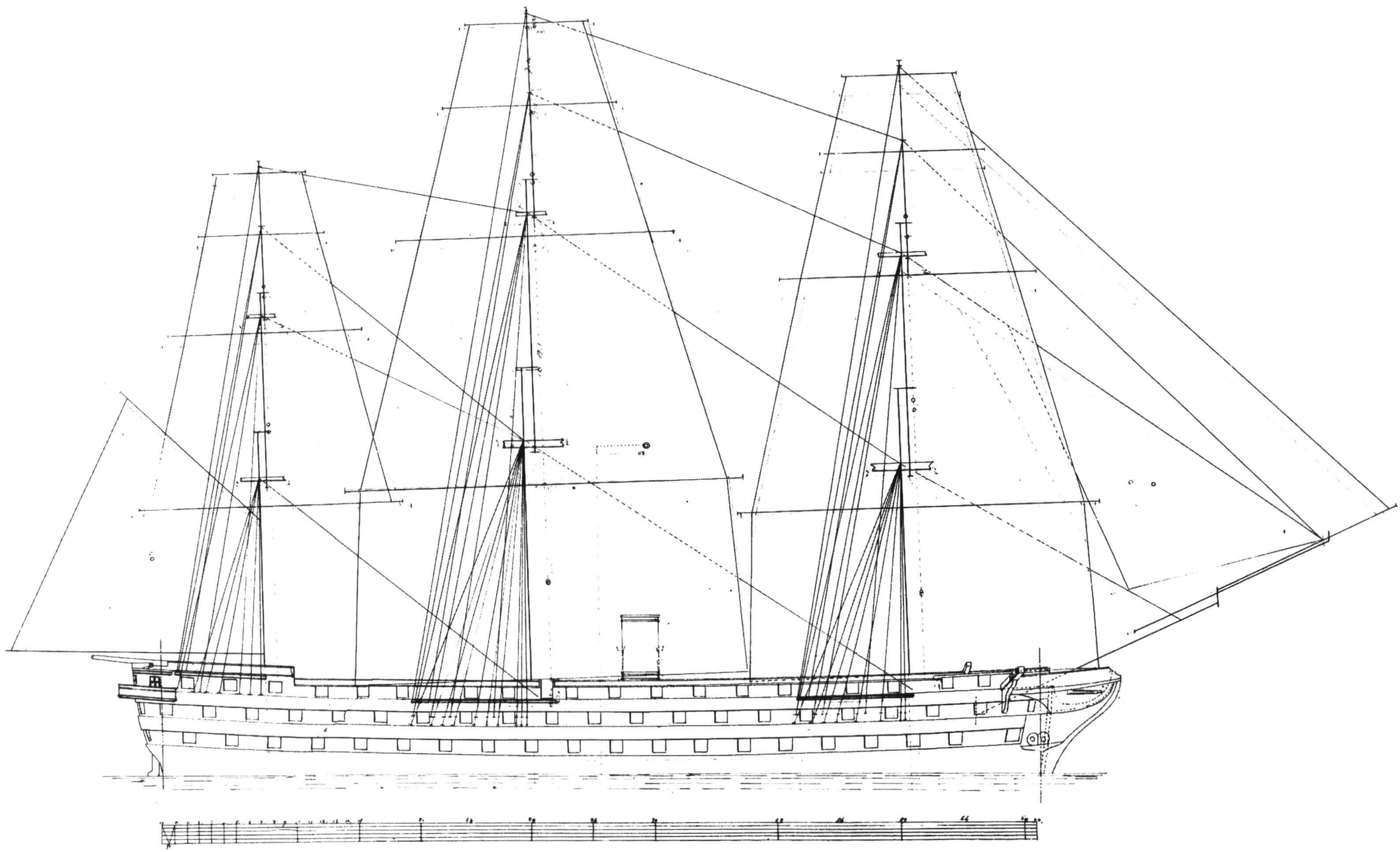 90-пушечный линейный корабль «Наполеон»