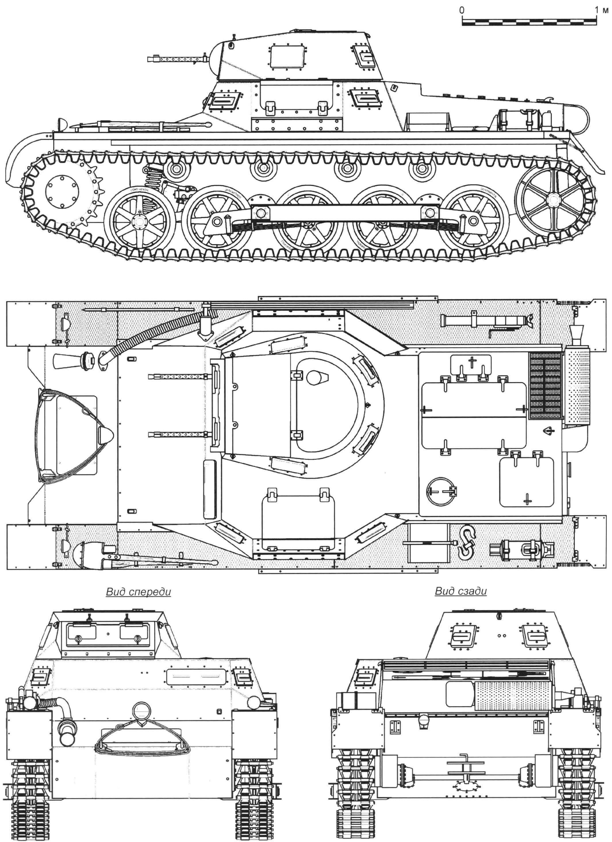 Танк Pz. I Ausf.B
