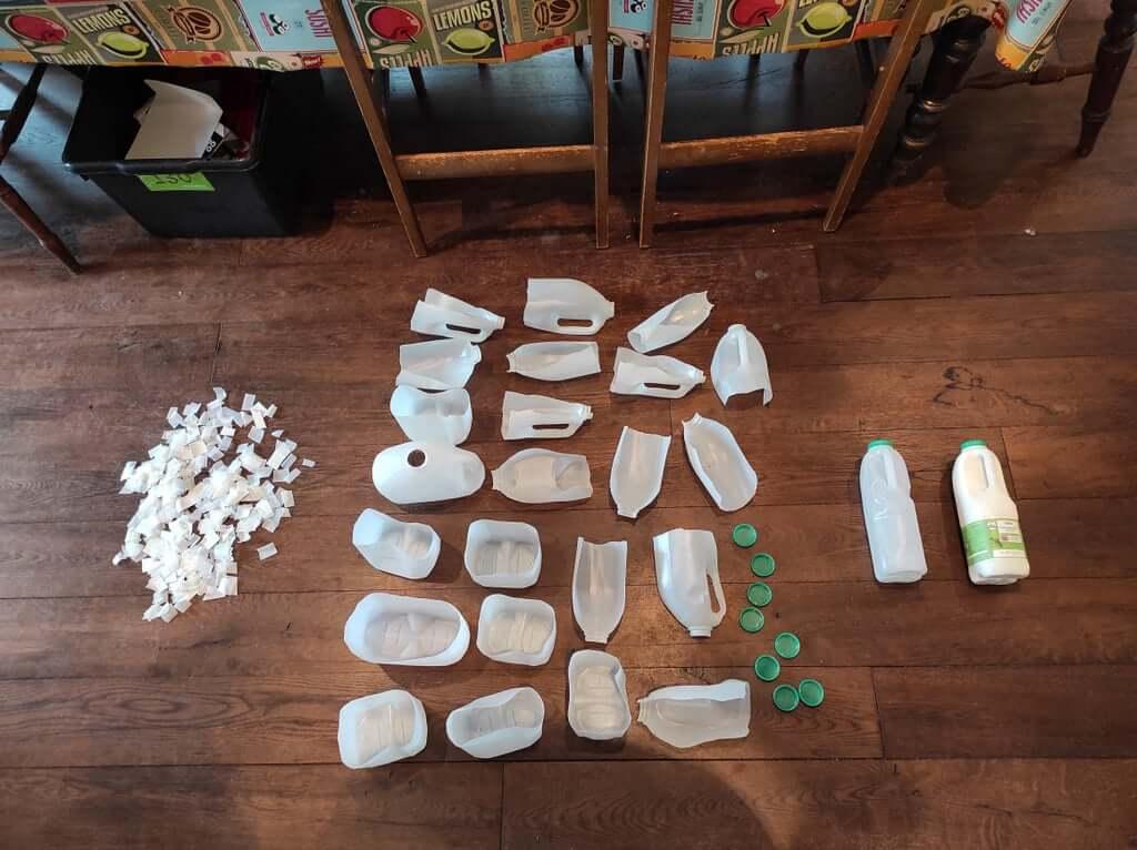 Шаг 1. Сбор пластика