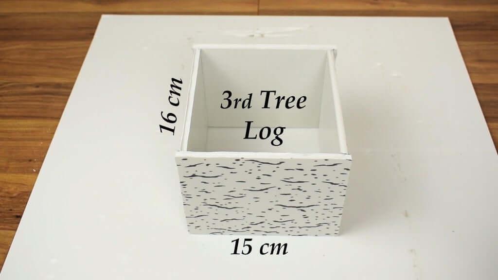 Шаг 11: Изготовление 3-го бревна дерева