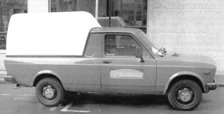 Пикап Zastava 101-Т с пластиковой надстройкой