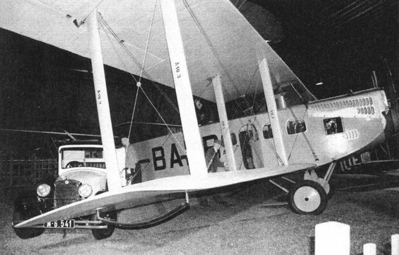 Пассажирский самолет Aero А-10
