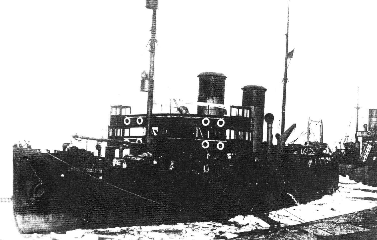 Ледокол «Князь Пожарский» в начале службы