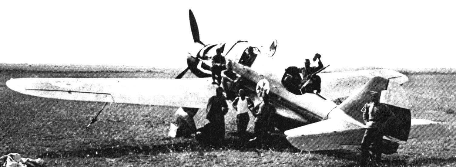Р-43А болгарских ВВС, 1939 год