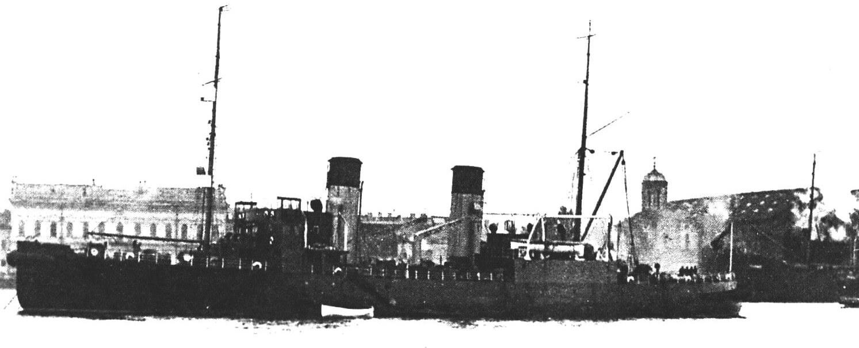Ледокол «Степан Макаров» (фотографии сделаны до начала Великой Отечественной войны)