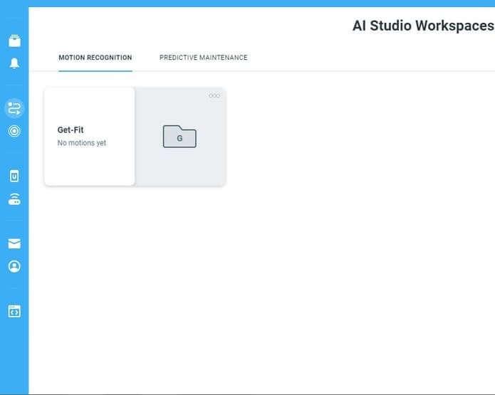 Шаг 8: Рабочее пространство AI Studio