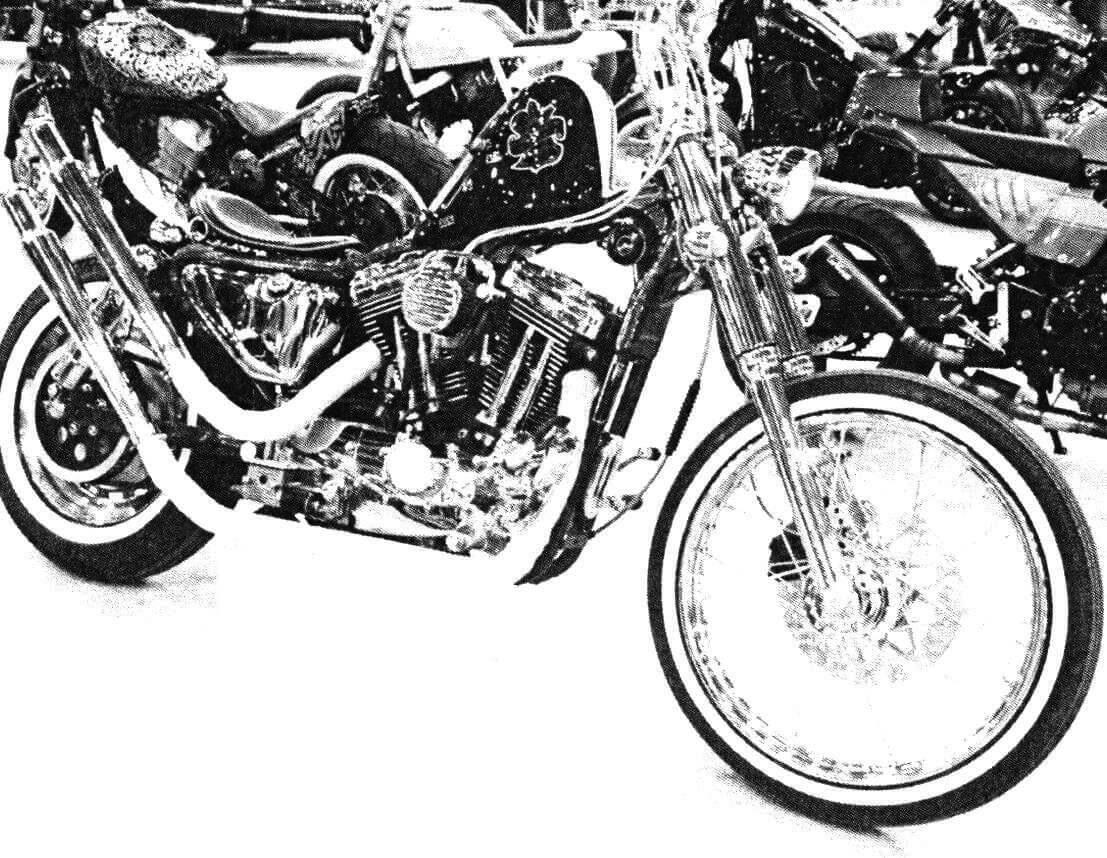 Мотоцикл «Авель»- это сочетание классики и современности