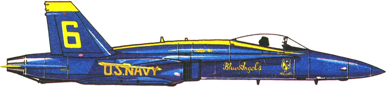 Самолет F/A-18A «Хорнет»