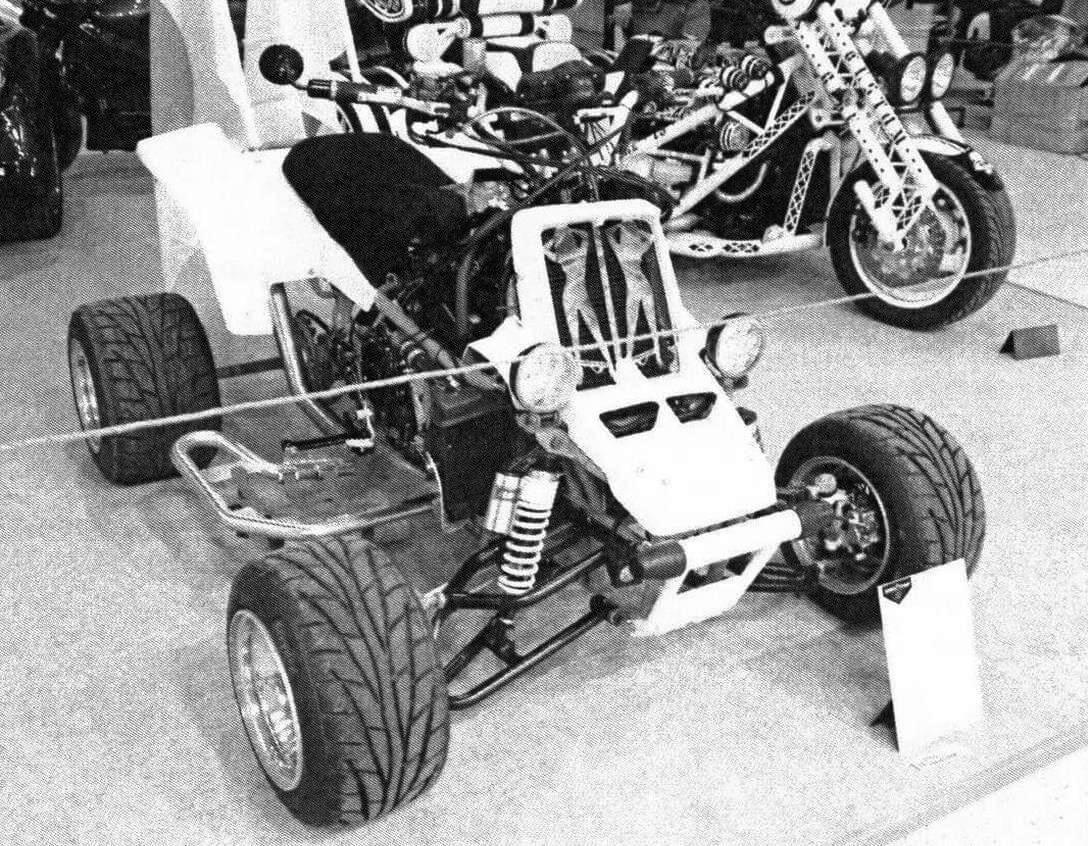 По динамике этот квадроцикл не уступает болидам «Формулы-1»