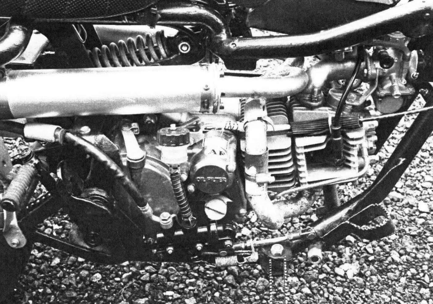 Силовой агрегат новый - четырехтактный двигатель YX160 в сборе с четырехступенчатой КПП