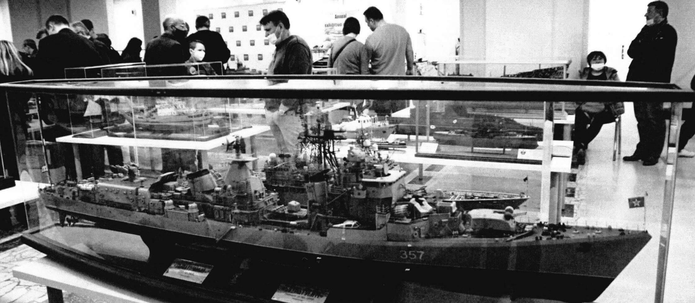 Превосходная модель эсминца «Сознательный» заняла 1-е место в классе С-2 и получила наивысшую оценку во всех представленных на Чемпионате классах моделей