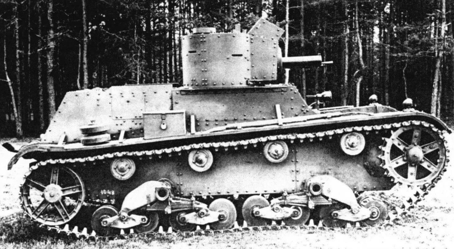 Двухбашенный танк 7ТР