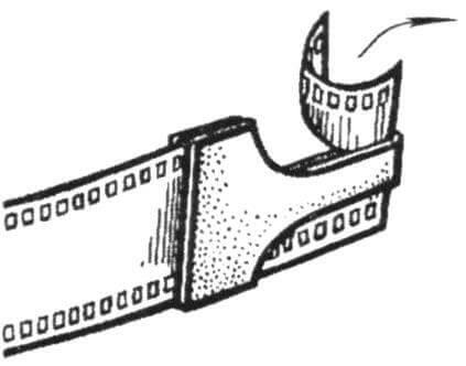 Выкройка резака для пленки