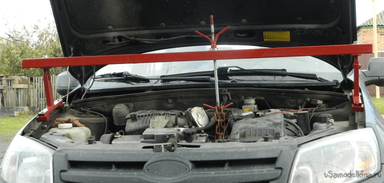 Как выбрать траверсу для вывешивания двигателя