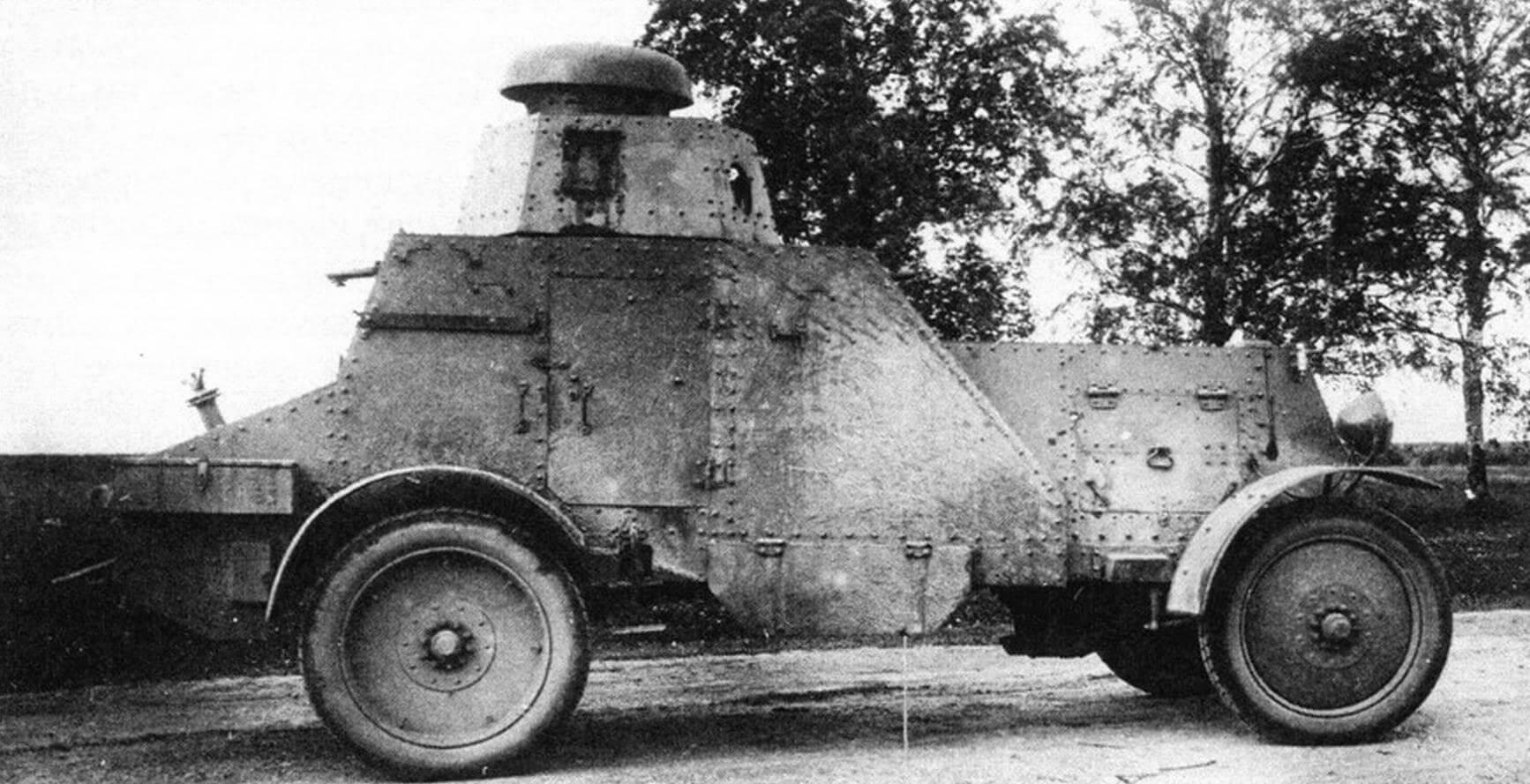 Испытания бронеавтомобиля БА-27 третьей производственной партии. 1930 год