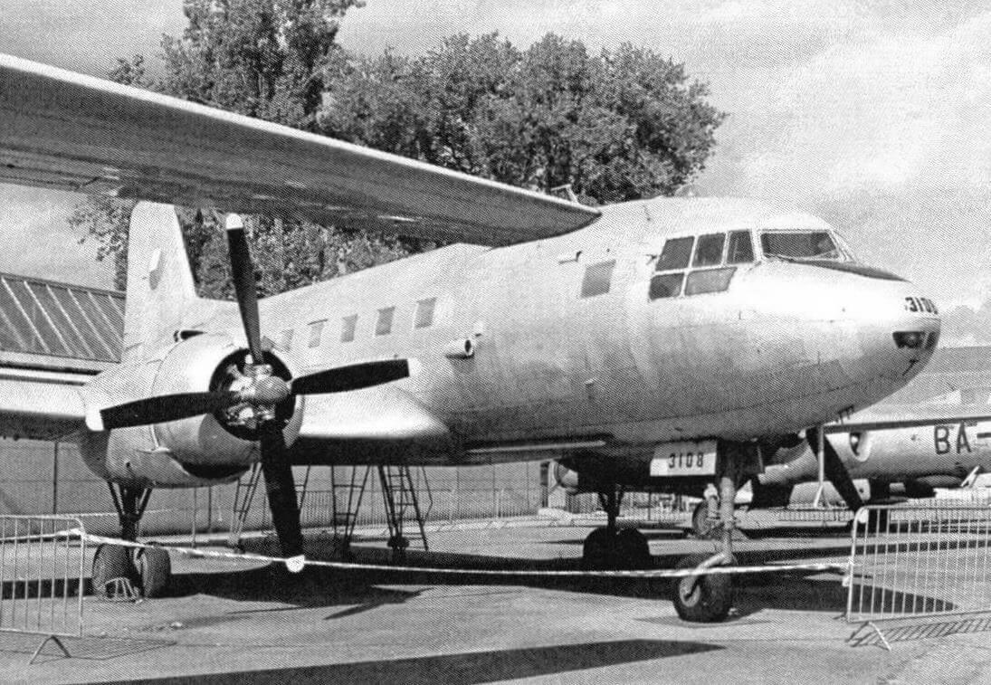 Самолет Avia-14T - модернизированный вариант советского Ил-14