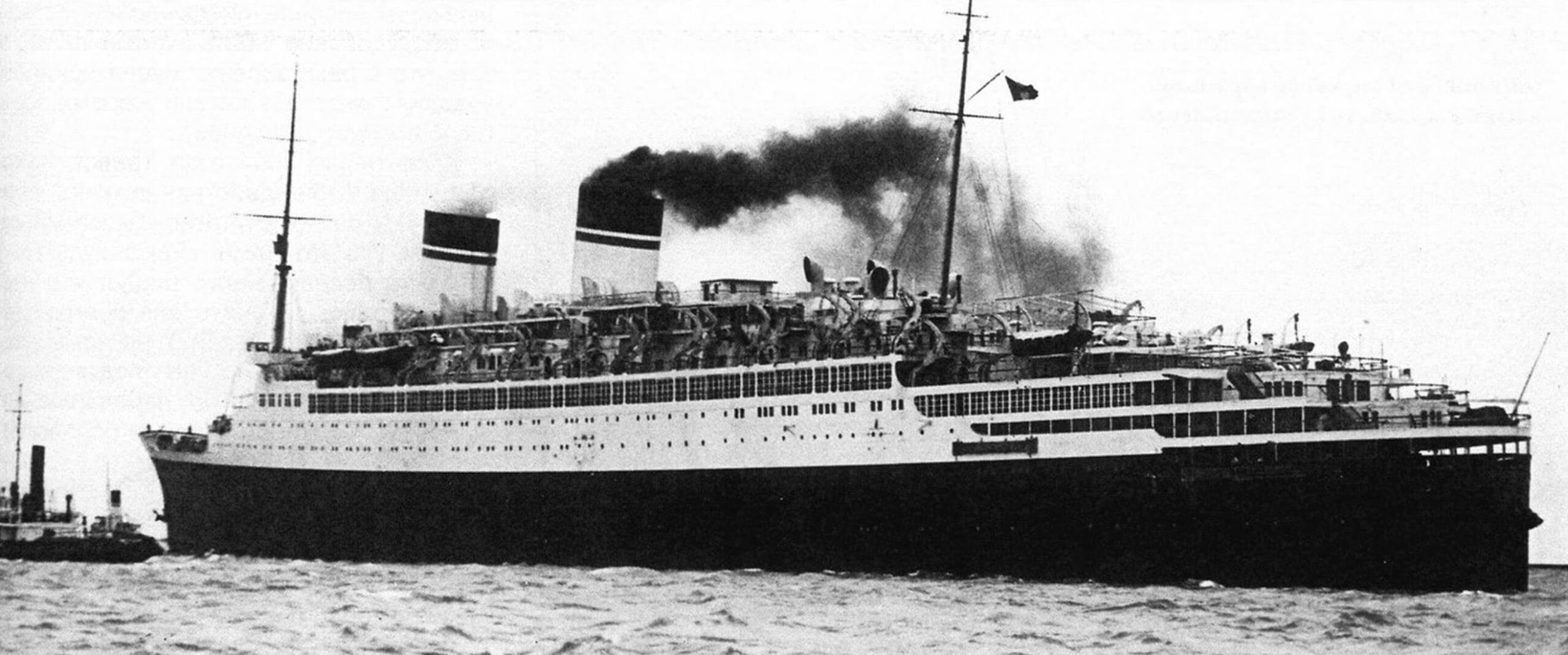 «Конте ди Савойя» покидает Триест, 1932 год