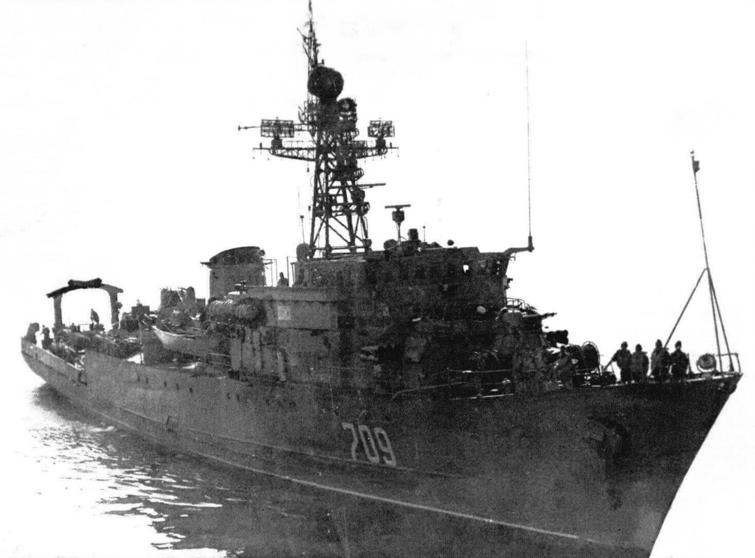 Морской тральщик «Параван» в Персидском заливе, 1988 год