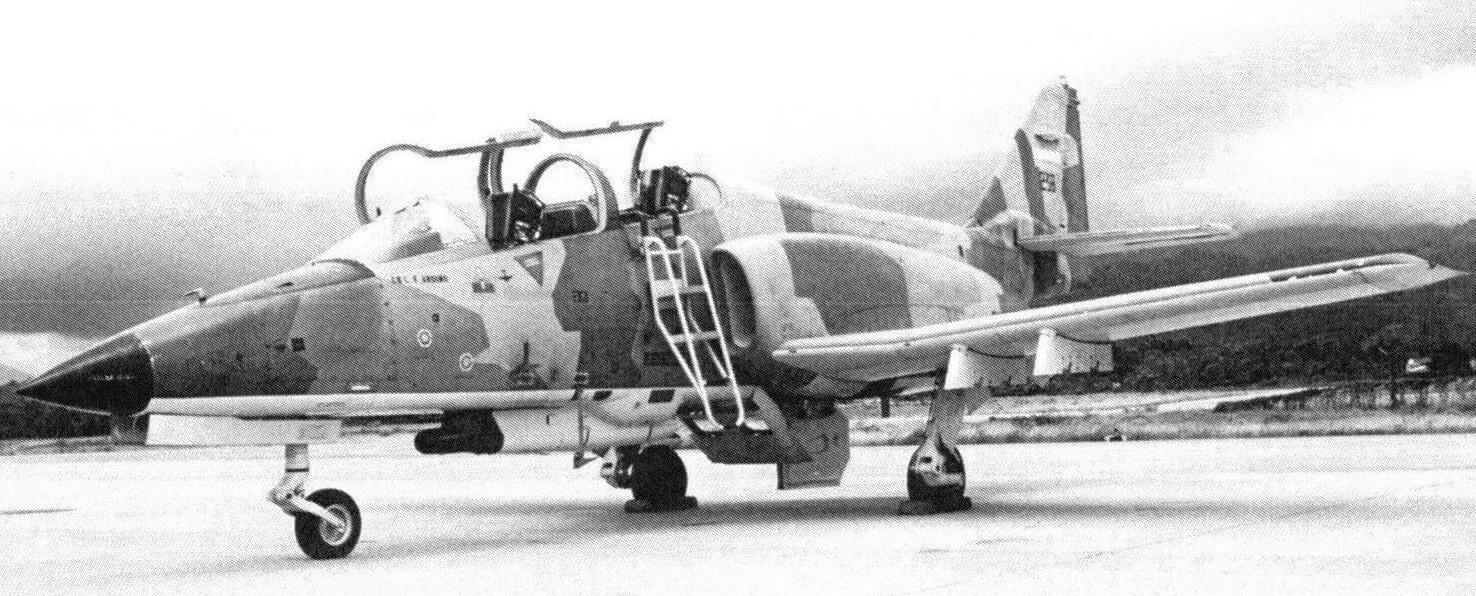 CASA С.101 ВВ Aviojet ВВС Гондураса