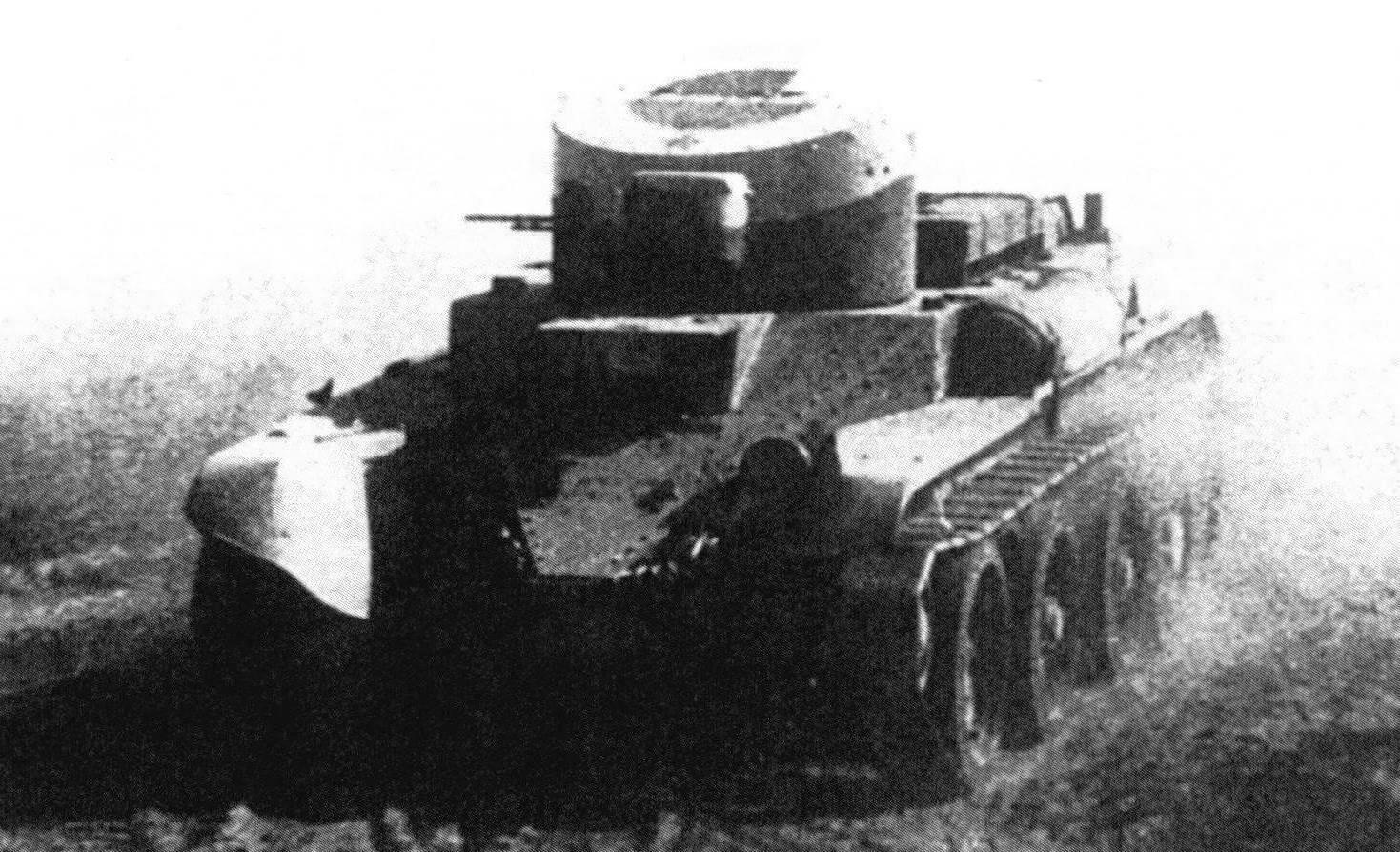 БТ-2 с пулеметным вооружением на маневрах, 1935 год