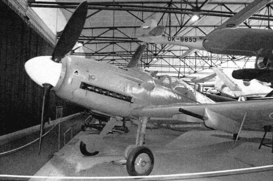 Avia S-99 - вариация на тему немецкого Bf 109 G