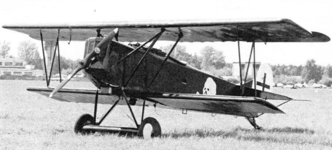 Реплика самолета Fokker D.VII
