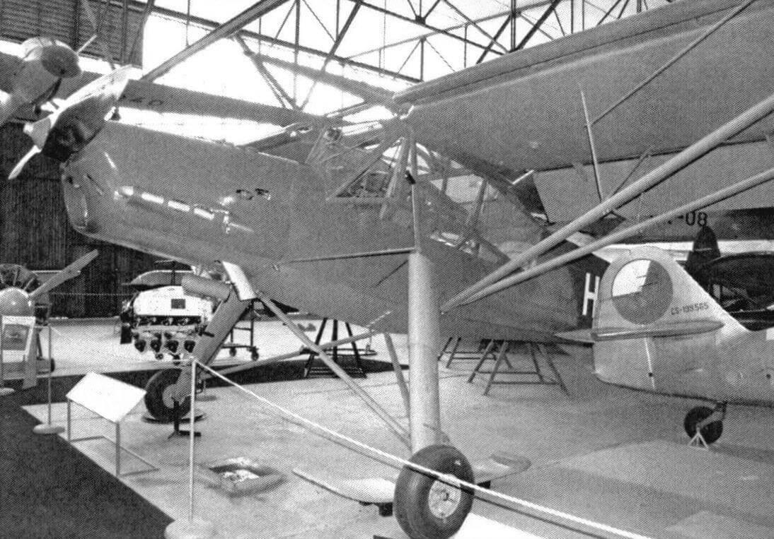 К-65 - послевоенная версия Fieseier Fi 156 Storch