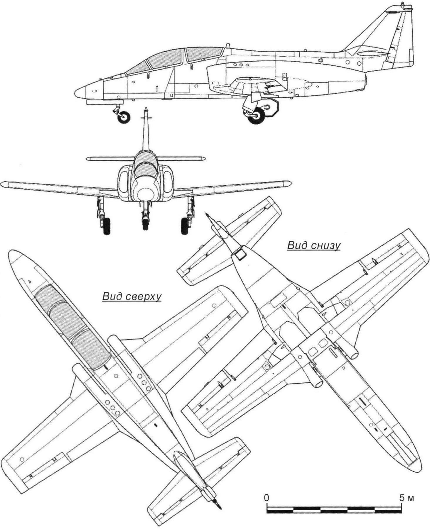 Учебно-боевой самолет CASA С.101 Aviojet