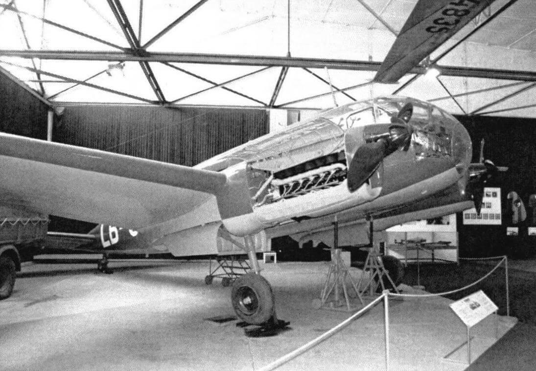 Музейный Aero С 3 собран из деталей от нескольких самолетов