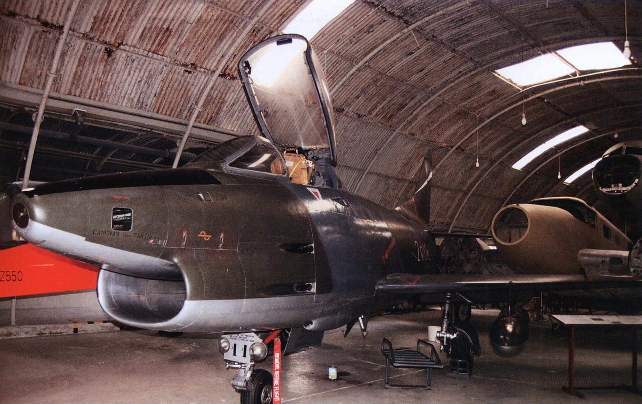 Истребитель Fiat G.91 Rl/B - подарок итальянских ВВС